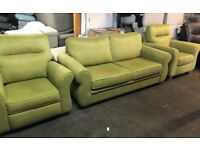 NEW - EX DISPLAY John Lewis KITSON 3 SEATER + 1 SEATER + 1 SEATER RECLINER CHAIR SOFAS 70% Off RRP