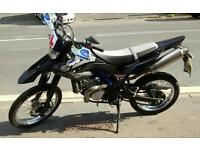 2014 Yamaha wr 125 r learner legal 125cc 4stroke water cooled motorbike