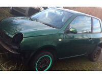 VW Lupo 1.4 , for spares , good engine & gearbox
