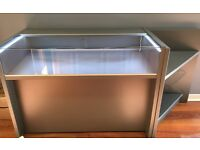 Modern LED illuminated Display cabinet, with locks. Suit Display of High Value items