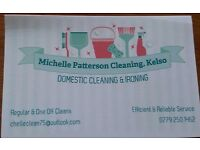 Michelle Patterson Cleaning, Kelso. Domestic Cleaning & Ironing