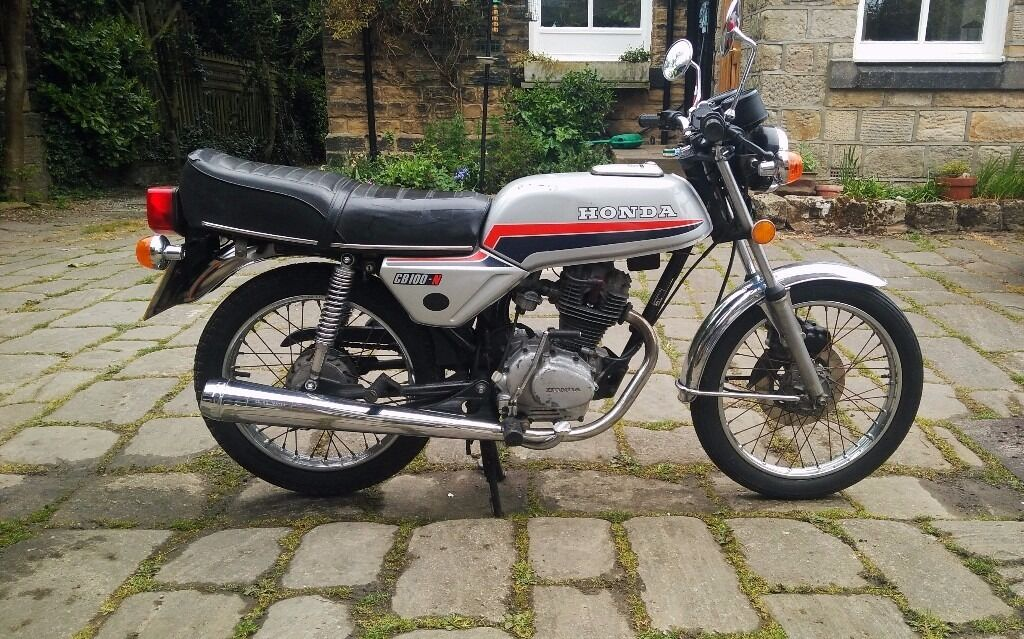 Beautiful Honda CB100 N 100cc Motorbike GBP700 Ono