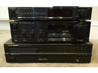 Marantz Special edition CD Player, Technics amp, Technics Tuner
