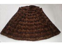 Gorgeous Real Mink Fur coat, size 12-14-16