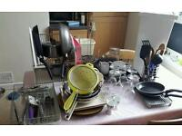 Kitchen items job lot