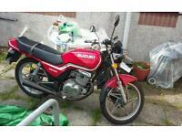 1989 Suzuki gs 125cc