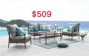 ALL THE PATIO FURNITURE UP T 30% OFF FROM $179 - FROM LARGEST FURNITURE STORE IN EDMONTON
