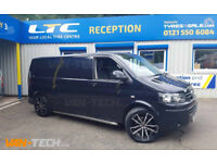VW T5 to T5.1 Front End Conversion kit, Side Bars and Alloy Wheels