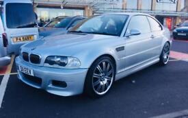 2003 BMW M3 E46 6 speed manual low miles silver