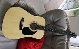 GUITAR FENDER SQUIER SA105 STEELSTRUNG RIGHT HANDED