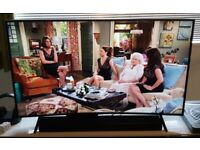 Samsung curve 55 inch smart TV + Logik soundbar