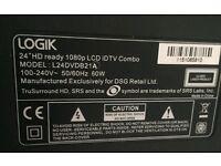 Logic LCD combo TV 24inc