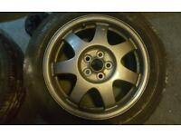 Toyota Prius 16 inch alloys wheels 2008