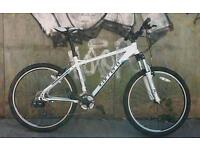 Adults Carrera valour 21 speed 19 inch frame 26 inch quick release wheels Mountain bike like new