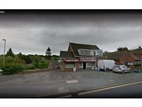 NESWAGENT AND OFF LICENSE SHOP FOR SALE - 20 YEARS SAME OWNER - RETIREMENT SALE