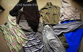 Job lot of women's clothing size 10/12