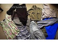 Job lot of women's clothing size 10/12