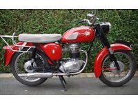 BSA B40 350cc 1965 - very good example of this classic lightweight single - (side points version)