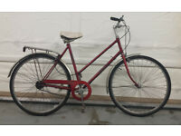 Ladies Vintage Hercules Bike