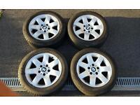 "Bmw e46 15"" style 45 genuine wheels"