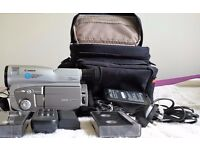 Canon V400 8mm PAL Video Camcorder