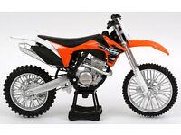 New Ray Die Cast Toy 1:12 KTM SXF 350 Xmas Gift Toy Bike Motocross