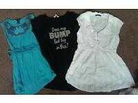19 item Maternity clothes bundle sizes 12-14