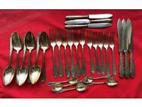 28pcs Vintage Nirosta WMF silverware