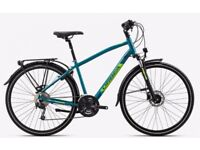 Orbea Comfort10 pack 2017 Hybrid bicycle Blue/Green XL frame