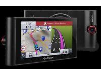 """6"""" GARMIN nüviCam™ LMT-D GPS Dash Cam Sat Nav 3D Terrain & Buildings Europe Maps (no offers, please)"""