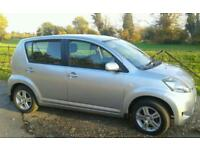 DAIHATSU SIRION 1.3 SE 5535 MILES 1 OWNER FULL HISTORY 10 MONTH MOT AS NEW CONDITION THROUGHOUT