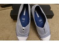 New Converse denim canvas pumps size 6