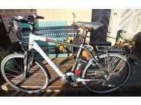 Electric bike Kalkhoff Agattu i8 55cm frame Shimano 8 speed hub gears,hydraulic brakes