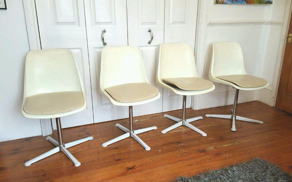 vintage 70s furniture. 4 X Vintage 70\u0027s Centa Mid Century Swivel Chairs 70s Furniture 0