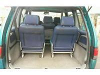 peugeot 806 aquamare 1.9td 7 seater 1998 plate
