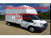 Cheap Man and Van / Removals