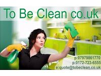 To Be Clean - Cleaners, End of Tenancy Cleaning , Office Cleaning, Housekeeping, Domestic Cleaning