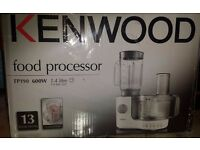 Kenwood food processor brand new