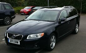 Volvo V70 D5 SE Lux 2.4 5dr Sat Nav, Sunroof, Beige Leather, FSH, heated seats, etc 2011 plate