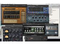 VARIOUS MUSIC PLUG-INS (PC or MAC)