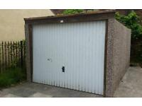 Garage. Good condition. Assembled loosly by hand only.Can easily be dismantled by buyer