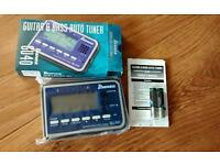 New Ibanez guitar/bass tuner
