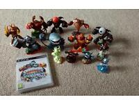 BARGAIN SKYLANDERS GIANT'S GAME AND FIGURES FOR PS3