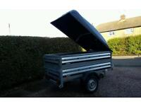 New Brenderup Car trailer 1205s +extension sides+Abs lid
