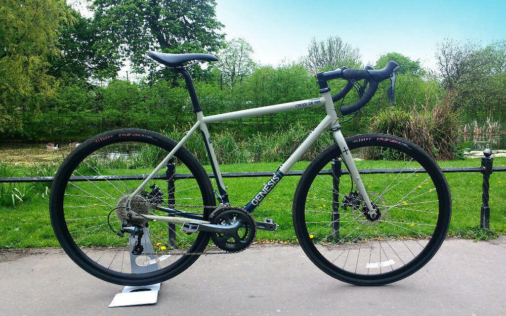 04e535b0da5 Genesis Croix de Fer 20 2016 Medium - Gravel Adventure Road Commuter Bike  CX Reynolds Disc