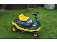 Sit on lawn mower