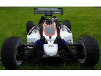 REDUCED Nitro rc buggy kyosho neo 4.6 upgraded engine rtr hpi might swop for a ps4