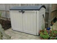Keter shed - very large capacity