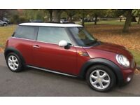 2008 AUTOMATIC MINI COOPER ONE FORMER OWNER AIR CONDITIONING PARKING SENSORS AUTO MINI COOPER