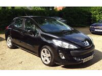 Peugeot 308 Sport 1.6 Litre.12 months MOT.Full service history.Beautiful condition inside and out